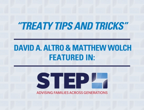 The STEP Journal – Treaty Tips and Tricks