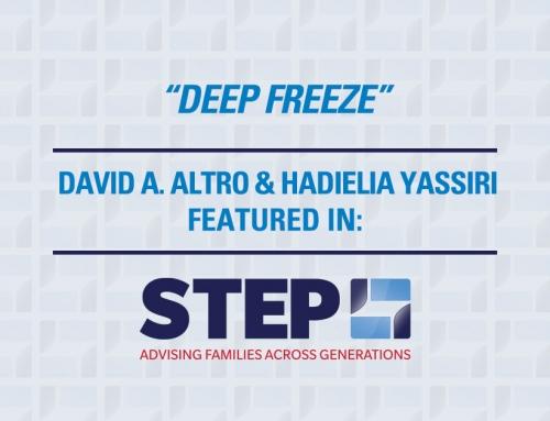 The STEP Journal – Deep Freeze