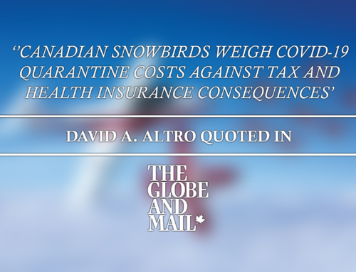 Canadian snowbirds weigh COVID-19 quarantine costs against tax and health insurance consequences